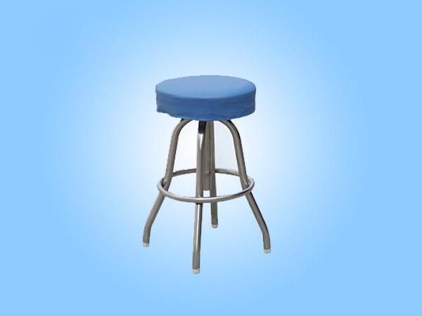 E11 不锈钢可升降圆凳II型