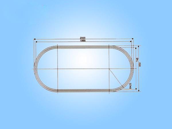 E13椭圆形轨道(可定制)